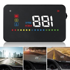 Review 3 5 Inch Mobil Hud Kepala Up Display Speedometer Obd2 Ii Euobd Auto Proyektor Parameter Display With Peringatan Overspeed Fungsi Tiongkok