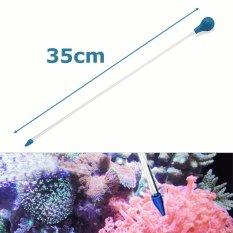 35 Cm Akrilik Tabung Pakan Karang Pupuk Cair Tambahkan Reef Tangki Segar Tanaman Air-Intl