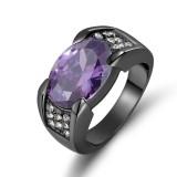 Ulasan Lengkap Tentang 3 5Ct Fashion Perhiasan Pria 18 K Emas Hitam Disepuh Wedding Pencocokan Topaz Zircon Stone Ring Ukuran 8 15 Intl