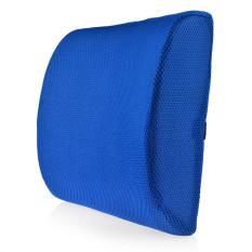 360DSC Lumbar Seat Cushion Lambat Rebound Memory Foam Bantal Belakang Sapphire