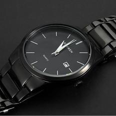 Beli 360 Wish Curren 8106 Quartz MenメS Sports Wrist Watch Dengan Kalender Bergaya Tahan Air Hitam Ekspor Seken