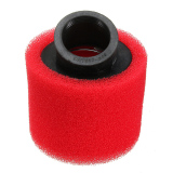 Toko 38Mm Atv Pit Motor Trail 45 ° Bersudut Busa Air Filter Pod Cleaner 110 125Cc Merah Termurah Tiongkok
