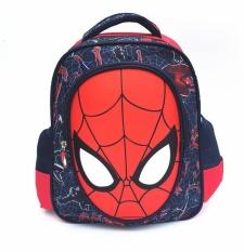 Harga Hemat 3D Boy S Canvas Sch**L Bag Kids Ransel Color Main Pic Intl Mikanoni