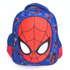 Beli 3D Boy S Canvas Sch**l Bag Kids Ransel Color Main Pic Intl Mikanoni Cicilan