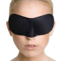 Jual 3D Eye Mask Padded Sleep Travel Shade Cover Rest Relax Blindfold For Menwomen Intl Online
