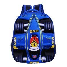 Beli 3D Menjalankan Mobil Boy S Tas Sekolah Anak Ransel Color Main Pic Intl Mikanoni