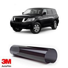 (GRATIS PASANG) 3M Kaca Film Mobil Nissan Patrol - Paket Large Eco Black