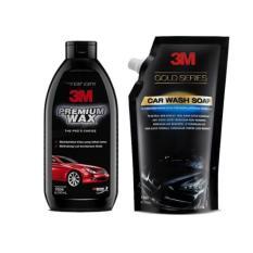Toko 3M Paket Shampo Mobil Premium Wax Car Wash Soap Gold Pouch Dekat Sini