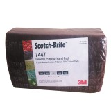Harga Scotch Brite Maroon General Purpose Hand Pad 7447 6 In X 9 In 10 Pads Pack Amplas 3M 3M Scotch Brite Jawa Barat