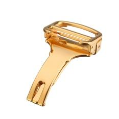 3 Pcs Adapter Cartier Watch Buckle Folding Clasp Pengganti Kadeya Balon Biru Gesper Cartier Hook GOLD 20mm-Intl