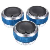 Jual 3 Pcs Aluminium Alloy Car Penyejuk Udara Control Switch Ac Knob Untuk Blue Online
