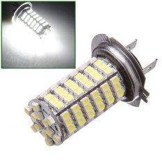 3 Pcs H7 120 LED Xenon Putih 3528 SMD Mobil Terang Senter Kepala Kabut Lampu Utama Bohlam Lampu-Intl
