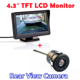 Top 10 4 3 Inch Tft Lcd Sistem Parkir Otomatis Rearview Monitor With 170 Derajat Tahan Air Hd Ccd Mobil Rear View Kamera Online