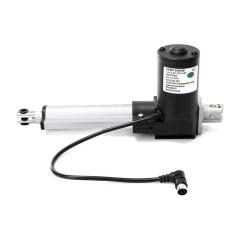 Diskon 4 Dc 12 V Aktuator Linier Stroke 900 Lb Angkat 4000N High Power Electric Motor Intl