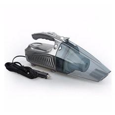 4 In 1 Multi-fungsi 12 V Mobil Penyedot Debu & Inflator Ban & Amp; LED Light & Tire Gauge (Silver) (Intl)