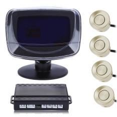 4 Parking Sensor Auto Reversing Detector With Digital Display And Step-up Alarm Monitor Sistem-Intl