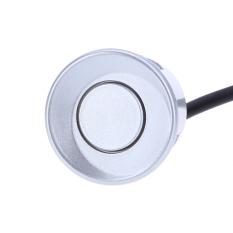4 Sensor Mobil Parkir Auto Reverse Rear Bantuan Backup Park Radar Buzzer Alarm Monitor System (Silver)