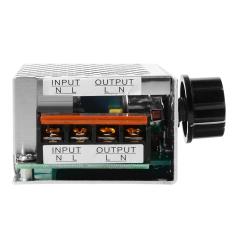4000 Watt 220 V AC Scr Tegangan Pengatur Lampu Dim Motor Listrik Pengendali Kecepatan TE474-SZ