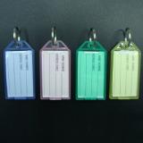 Beli 40 Buah Baru Plastik Transparansi Warna Id Kunci Bagasi Label Tag Gantungan Kunci Yang Bagus