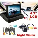 Diskon 4 3 Mobil Rear View Monitor Kamera Cadangan Mobil Nirkabel Sistem Parkir Kit Intl Tiongkok