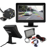 Beli 4 3 Inci Lcd Tft Mobil Tampak Belakang Cermin Monitor Night Vision Backup Reverse Kamera Intl Online Tiongkok