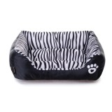 Jual 45 40 12 Cm Pet Supplies Waterproof Zebra Pet Nest Cat Houseteddy Anjing Tambahan Bantal Sofa Kennel Supply Nbsp Intl
