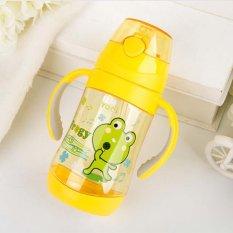 Jual 450 Ml Kartun Straw Botol Air Plastik Food Grade Cups Outdoor Baby Cup Minumanku Anak Anak Anak Anak Botol Bpa Gratis Internasional Murah Tiongkok
