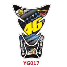 46 Motor Tangki Bahan Bakar Stiker Mobil Stiker Fishbone Pengeluaran Stiker Pelindung Motorbike Aksesoris Universal Decals & Stiker untuk Rider Motorcycle Tipe G YG017-Intl