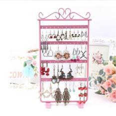 48 Anting Lubang Perhiasan Display Metal Stand Rak Holder-Intl