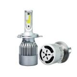 Beli 488W Led Light Car Auto Head Light Lamp H4 6000K 2Pcs White Bulbs 48800Lm Intl Murah Di Tiongkok