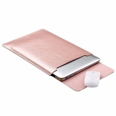 Toko 4Connect Leather Sleevecase And Mouseplacement For Xiaomi Airbook Apple Macbook 12 5Inch Rosegold Yang Bisa Kredit