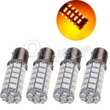 Jual 4Pcs 1156 Ba15S 68 Smd Amber Yellow Tail Fog Turn Signal Led Car Light Bulb Lamp Intl Oem Original