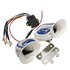 4 Pcs 12 V Electric Digital Sirene Siput Keras 115DB Klakson Udara 18 Jenis Suara Mobil Van Perahu-Internasional