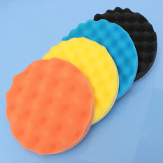 Spesifikasi 4Pcs 7 180Mm Sponge Waffle Polishing Buffer Pad Foam Kit Tool For Car Polisher Intl Paling Bagus
