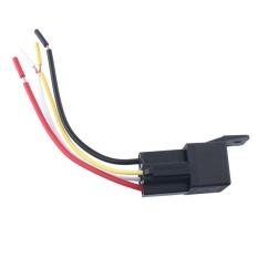 Spesifikasi 4 Pcs Mobil 12 V 50A 4Pin Perangkat Amp Style Relay Changeover W Kabel Harness Soket Internasional Lengkap Dengan Harga