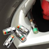 Toko 4 Pcs Mobil Auto Tire Tekanan Ban Monitor Tutup Batang Katup Sensor Indikator Peringatan Intl Terdekat