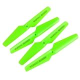 Spesifikasi 4 Pcs Fluorescent Hijau Propeller Blades Penggantian Bagian Untuk Syma X5C X5Sc X5Sw Intl Online