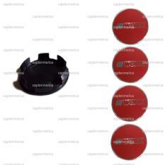 4pcs Aksesoris Mobil Logo Work Wheel Dop DOb Velg Tutup Roda Ban Mobil Avanza Xpander Calya Innova Gran Max Pick Up Brio Satya  Sigra Xenia Rush Carry Ertiga HR-V Ayla Terios Agya Ignis Mobilio APV Pajero Sport Fortuner CR-V Sienta Asesoris Mobil Acesoris