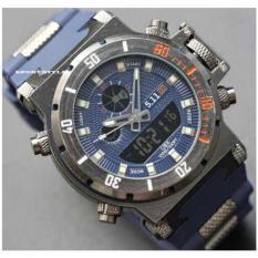 Dimana Beli 5 11 Tacticas Dual Time Jam Tangan Pria Stainless Steel Blue 5 11 Tactical