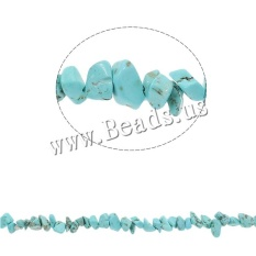 5-8mm Alami Freeform Keripik Manik-manik Manik-manik Batu Biru DISEDUH SENDIRI Membuat Perhiasan Spacer Beads untuk Kalung Gelang- INTL
