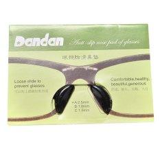 5 pasang anti slip silikon bantalan hidung untuk lensa kaca mata kacamata hitam
