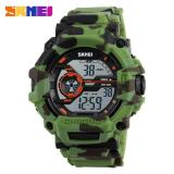 Review 50 M Tahan Air Pria Olahraga Watches Skmei Led Militer Watch Fashion Luar Ruangan Berenang Jam Men Digital Watch 6 Warna Intl