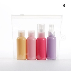 50 Ml Makeup Travel Refillable Botol Set Lotion Cream Container Macaron Kosong Botol Mini Bottler Shampoo Container Botol Kit B Intl Indonesia