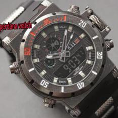 Tips Beli 511 Pw Tacticas Dual Time Jam Tangan Pria Stainless Steel Black