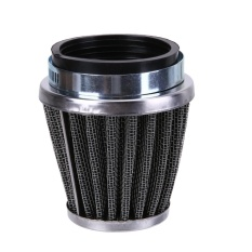 Tips Beli 52Mm 2 Lapisan Baja Net Filter Gauze Motor Clamp On Air Filter Cleaner Intl Yang Bagus