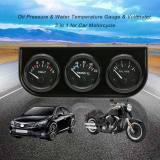 Beli 52Mm Triple Elektronik Alat Pengukur Tekanan Minyak Alat Pengukur Suhu Alat Pengukur Tegangan Volt 3 In 1 Meteran Mobil Sepeda Motor Internasional Nyicil