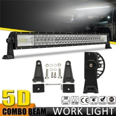 5D 32 ''Inci 1070 W LED Work Ringan Bar Tempat Banjir Kombo Lampu Offroad Mobil Truk-Internasional