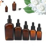 Beli 5Pcs10Ml Amber Glass Liquid Reagent Pipette Aromatherapy Bottle Eye Droppe Intl Murah Tiongkok