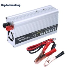 600W Power Inverter DC 12V to AC 220V Modified Sine Wave Charger Adapter - intl