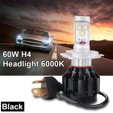 Beli 60 Watt H4 9003 Led Hitam Cahaya Lampu Mobil Di Hi Lo Balok Pentol Kit 6000 Kb Putih Ld784 Murah Indonesia